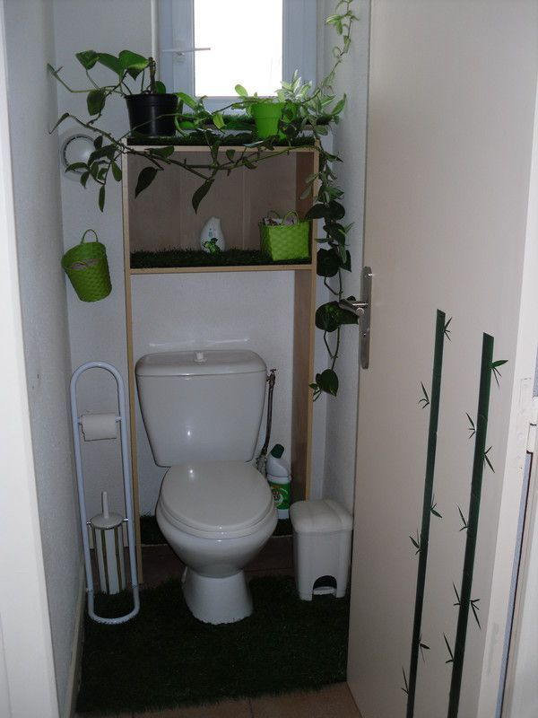 Comment decorer les wc - Decor de toilettes wc ...